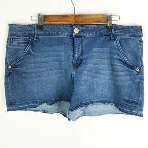 Maurices Mid Rise Jeans Shorts